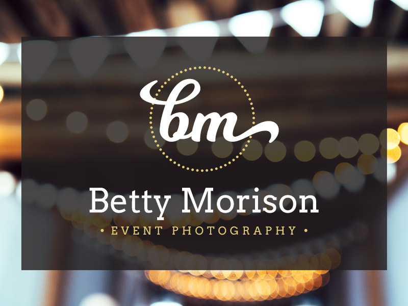 decorative girly photography logo