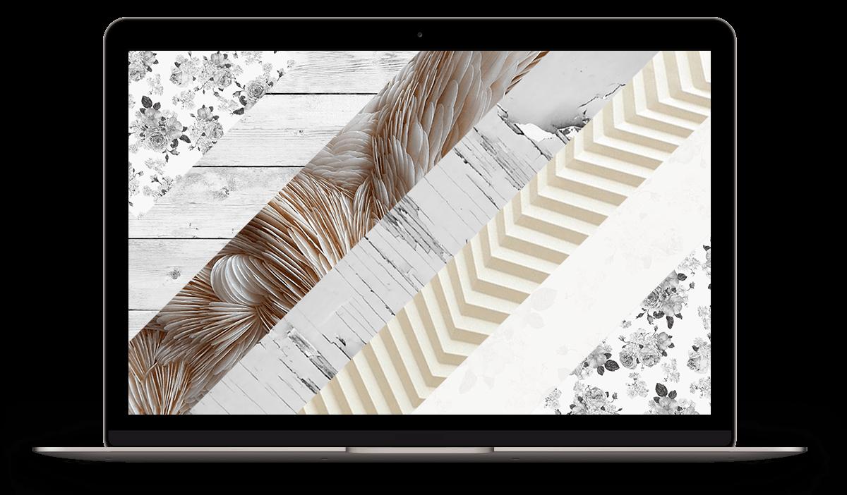 Aster WordPress theme with customizable patterns