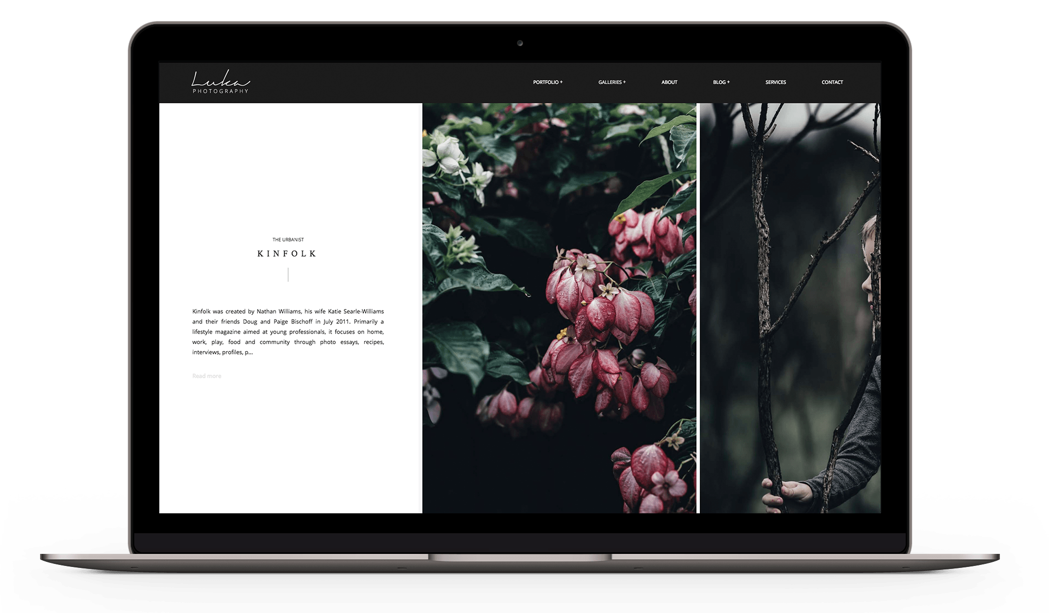 Luka Photography - Modern photography theme with elegant patterns