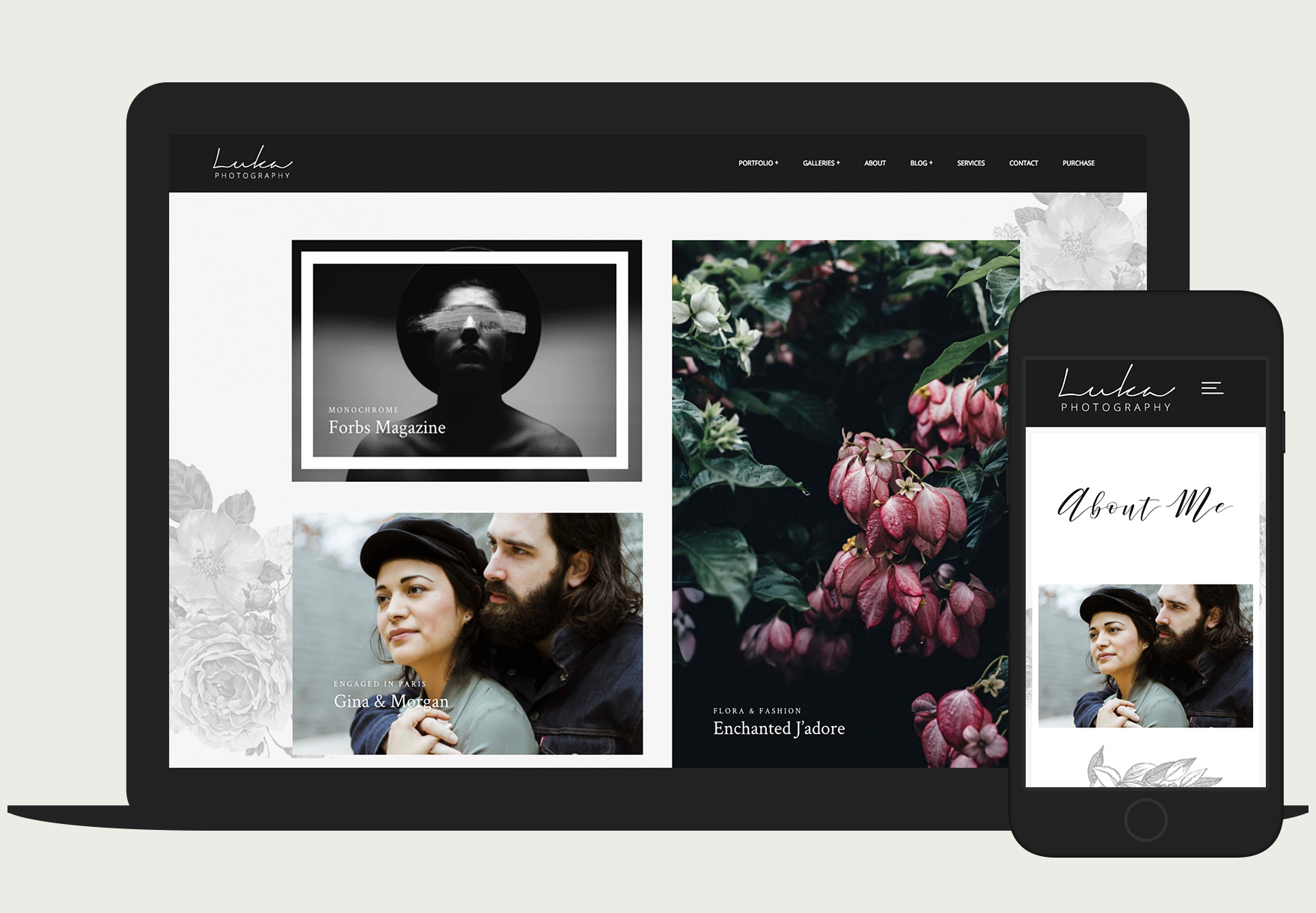 Luka - Responsive photography WordPress theme
