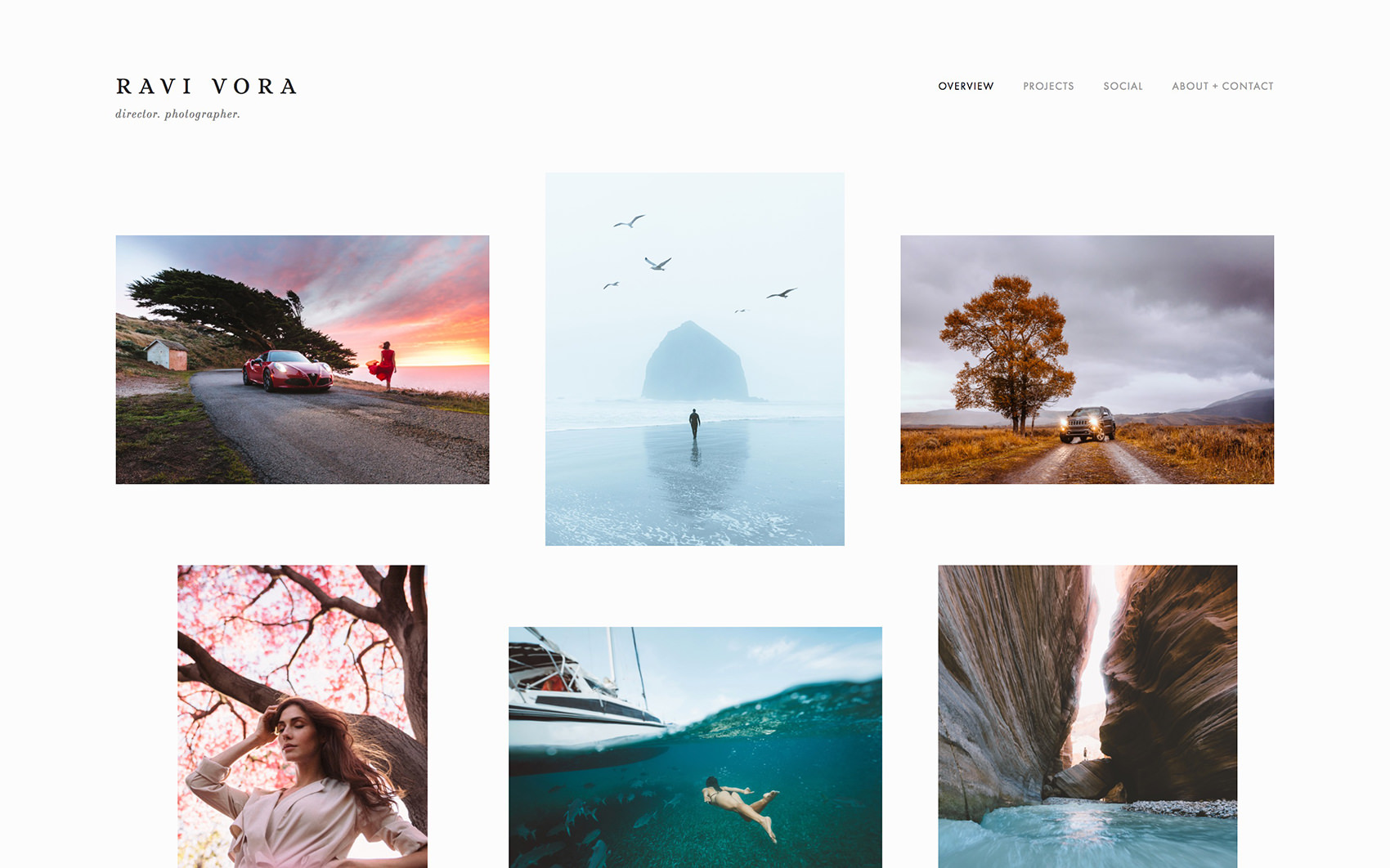26 Photography Portfolio Examples for Inspiration | Colormelon