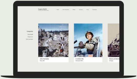 Eugene - Photojournalism WordPress theme