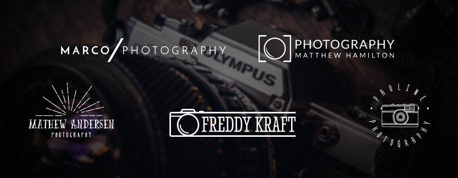 Five free photography logo templates for photographers