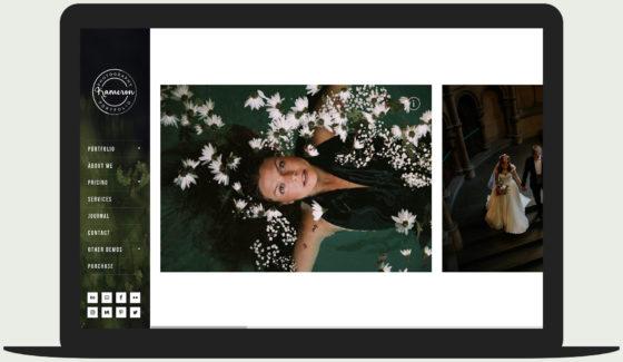 Kameron Photography WordPress theme