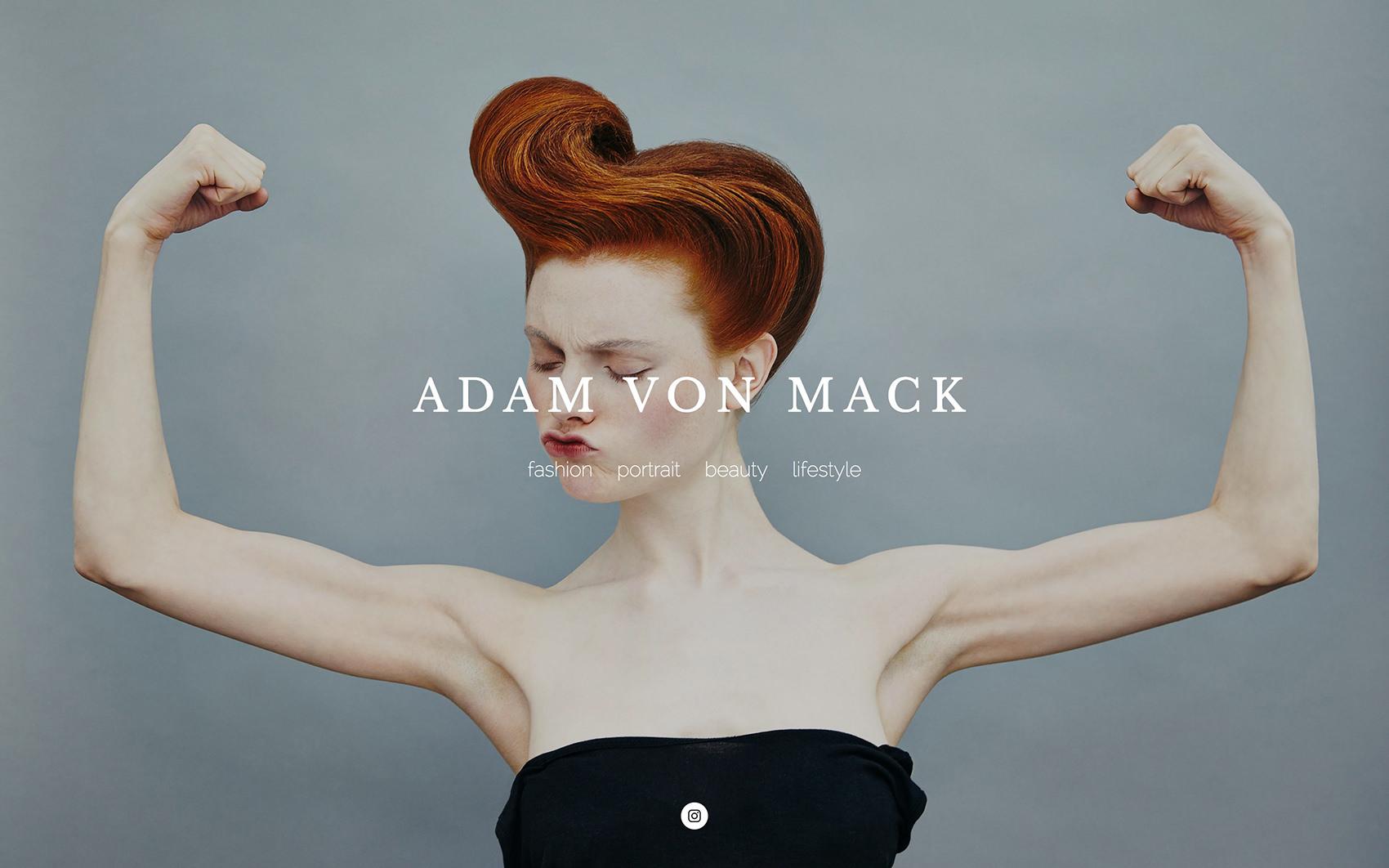 Portafolios de fotografía: Adam Von Mack