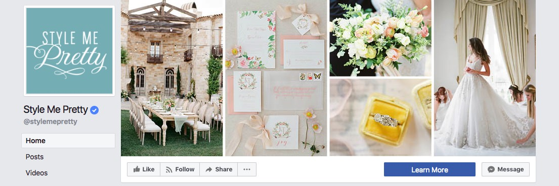Facebook page cover inspiration - mixed collage