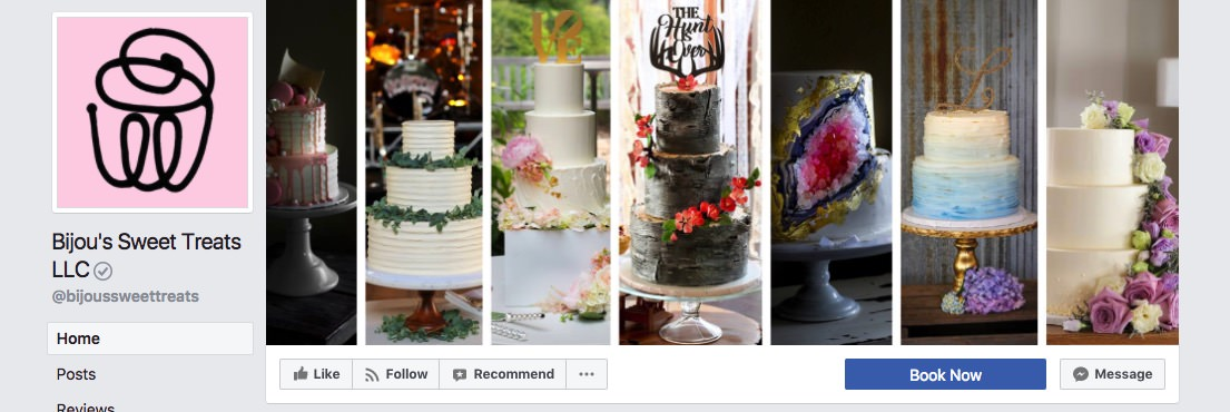 Facebook page cover inspiration - collage in multiple columns