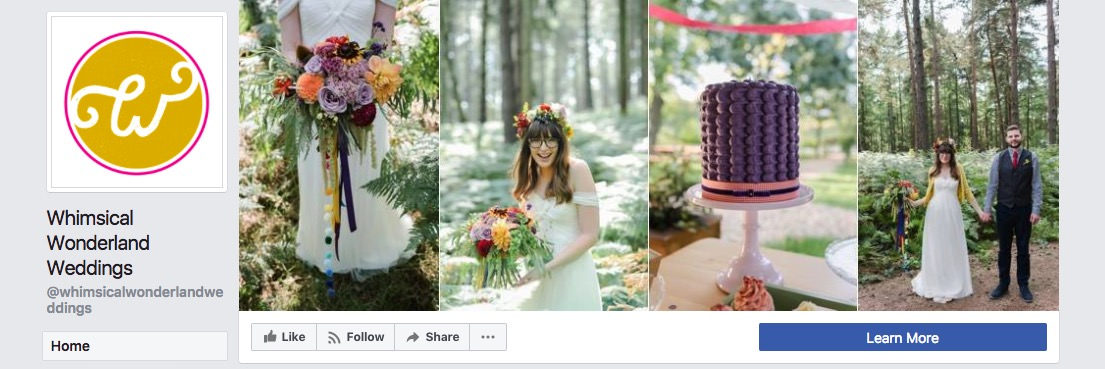 Facebook page cover inspiration - collage