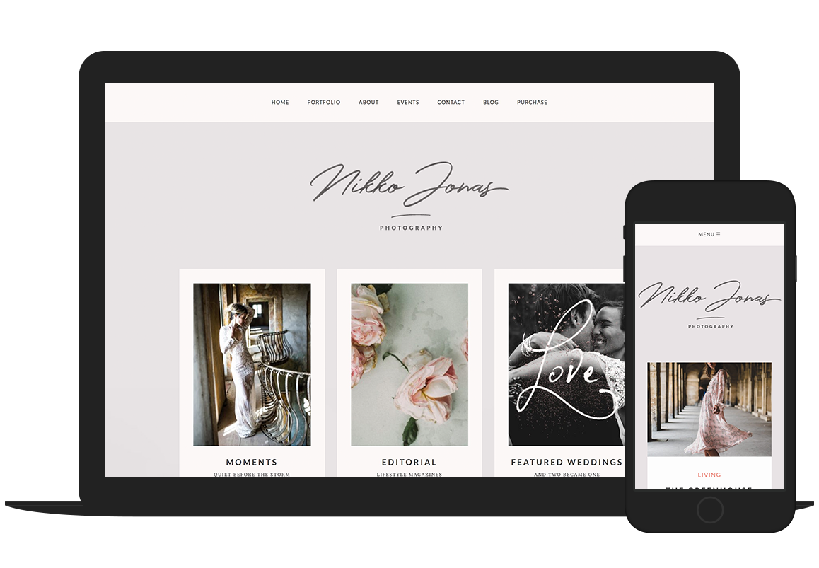 Nikko Pro photography WordPress theme by Colormelon