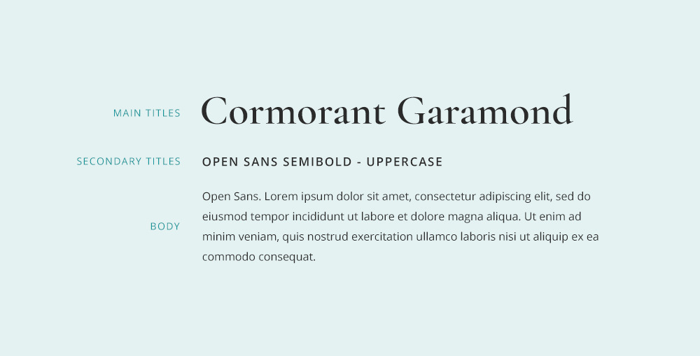 Cormorant Garamond font pairing.