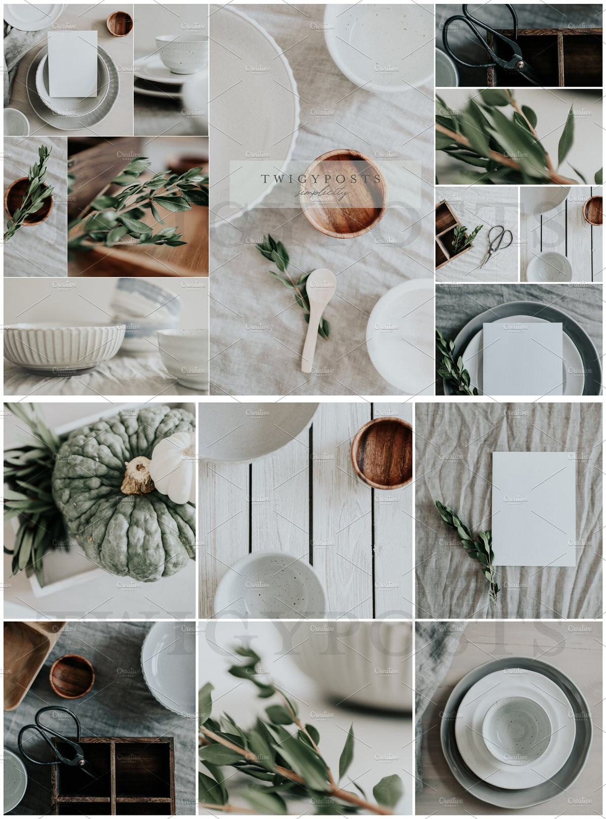 Large styled stock photography bundle.