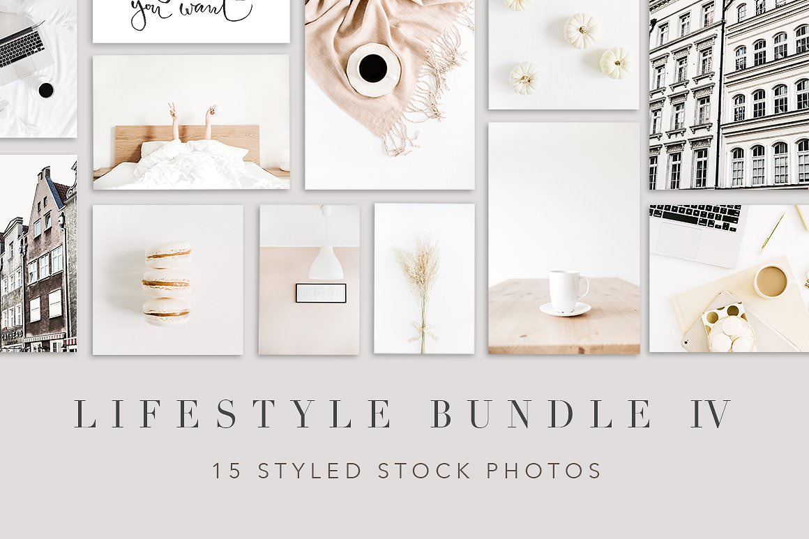 Lifestyle styled stock photography.