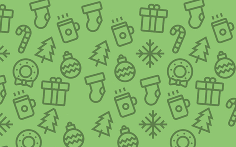 Cute Christmas themed icons.